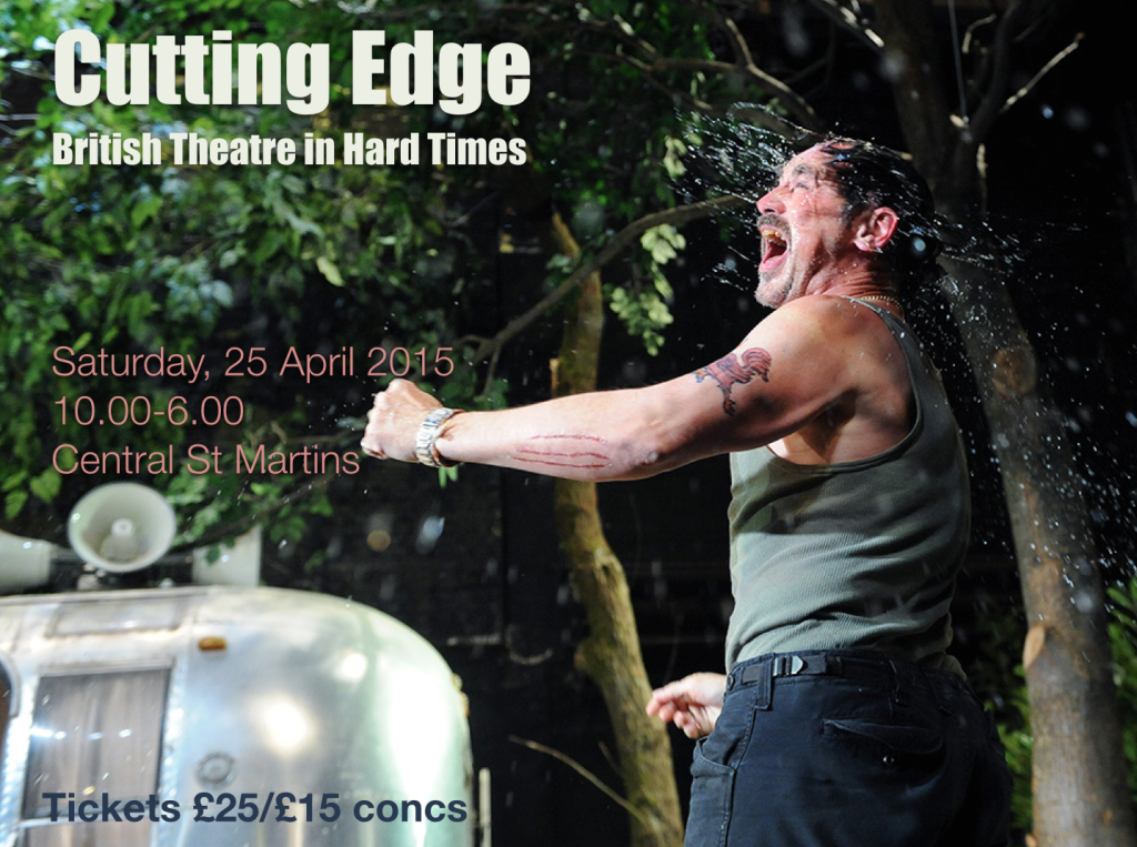 Cutting Edge: Theatre in Hard Times